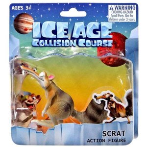 アイス エイジ Ice Age フィギュア Collision Course Scrat Action Figure|fermart-hobby