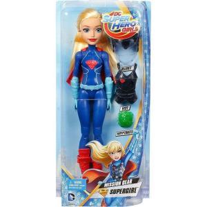 スーパーガール Supergirl マテル Mattel Toys 人形 おもちゃ DC Super Hero Girls Mission Gear 12-Inch Doll|fermart-hobby