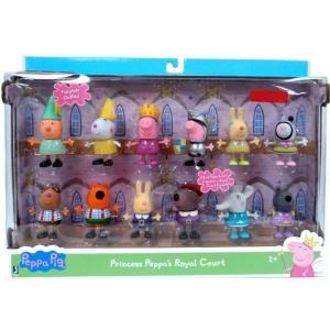 ペッパピッグ Peppa Pig ジャズウェアーズ Jazwares フィギュア おもちゃ Princess Peppa's Royal Court Exclusive Figure 12-Pack|fermart-hobby