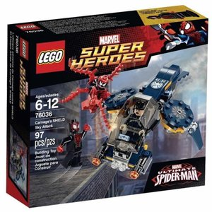 マーベル Marvel Super Heroes レゴ LEGO おもちゃ Ultimate Spider-Man Carnage's SHIELD Sky Attack Set #76036|fermart-hobby