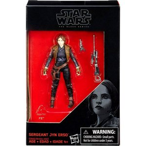 ジン アーソ Jyn Erso ハズブロ Hasbro Toys フィギュア おもちゃ Star Wars Rogue One Black Series Sergeant Action Figure|fermart-hobby