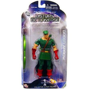 グリーンアロウ Green Arrow ディーシー コミックス DC Direct フィギュア おもちゃ History of the DC Universe Series 1 Action Figure|fermart-hobby