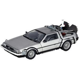 バック トゥ ザ フューチャー Back to the Future 海洋堂 Kaiyodo おもちゃ Part II DeLorean Time Machine 6.3-Inch Model|fermart-hobby