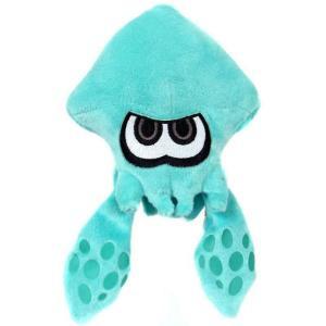 スプラトゥーン Splatoon ジャックスパシフィック Jakks Pacific ぬいぐるみ おもちゃ World of Nintendo Turquoise Squid 7-Inch Plush|fermart-hobby