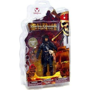 パイレーツ オブ カリビアン Pirates of the Caribbean ディズニー Disney フィギュア おもちゃ At World's End Captain Jack Sparrow Exclusive Action Figure|fermart-hobby