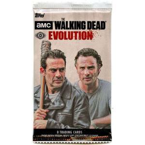 ウォーキング デッド Walking Dead トップス Topps トレーディングカード おもちゃ Season 7 Evolution Trading Card HOBBY Pack|fermart-hobby