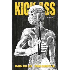 キック アス Kick-Ass イメージコミックス Image Comics おもちゃ #2 Comic Book [Cover B Romita Jr Black & White]|fermart-hobby