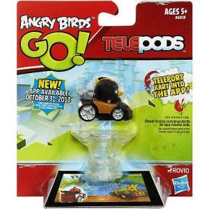 アングリーバード Angry Birds ハズブロ Hasbro Toys フィギュア おもちゃ GO! Telepods Kart Series 1 Black Bird Figure Pack fermart-hobby
