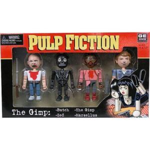パルプ フィクション Pulp Fiction フィギュア 4点セット Geomes The Gimp Mini Figure 4-Pack #2|fermart-hobby