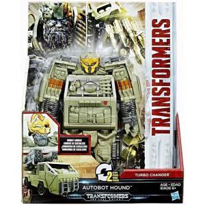 トランスフォーマー Transformers ハズブロ Hasbro Toys フィギュア おもちゃ The Last Knight 2 Step Turbo Changer Hound Action Figure|fermart-hobby