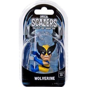 ウルヴァリン Wolverine ネカ NECA フィギュア おもちゃ Marvel Scalers 3.5-Inch Vinyl Figure|fermart-hobby