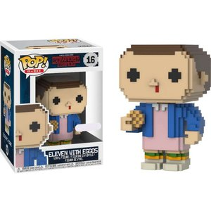ストレンジャー シングス? Stranger Things ファンコ Funko フィギュア おもちゃ Season 2 POP! 8-Bit Eleven with Eggos Exclusive Vinyl Figure|fermart-hobby