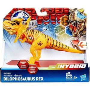 ジュラシック ワールド Jurassic World ハズブロ Hasbro Toys フィギュア おもちゃ Bashers & Biters Hybrid Dilophosaurus Rex Action Figure|fermart-hobby