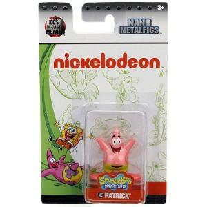 ニコロデオン Nickelodeon フィギュア Spongebob Squarepants Nano Metalfigs Patrick 1.5-Inch Diecast Figure NK3|fermart-hobby