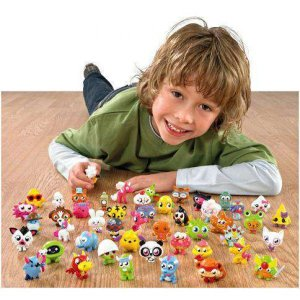 モシモンスターズ Moshi Monsters フィギュア Moshlings Series 1 Flumpy 1.5-Inch Mini Figure #54|fermart-hobby