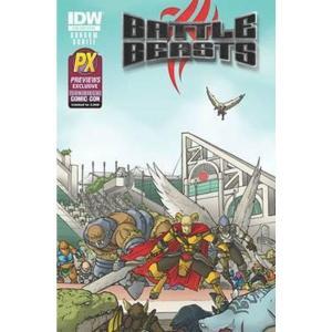 バトル ビースト Battle Beasts 本・雑誌 漫画 #1 Exclusive Comic Book|fermart-hobby