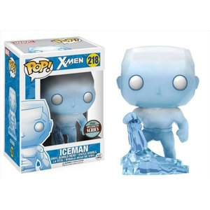エックスメン X-Men ファンコ Funko フィギュア おもちゃ POP! Marvel Iceman Exclusive Vinyl Bobble Head #218|fermart-hobby