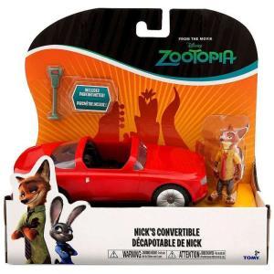 ズートピア Zootopia フィギュア Disney Nick's Convertible Vehicle & Figure fermart-hobby