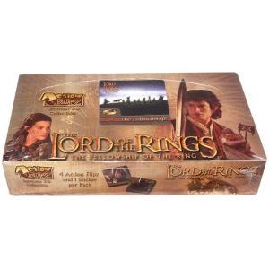 ロード オブ ザ リング アートボックス トレーディングカード箱売り おもちゃ Action Flipz The Fellowship of the Ring Trading Card Box|fermart-hobby
