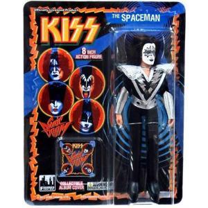 キッス KISS フィギュアーズトイ Figures Toy Co. フィギュア おもちゃ Retro Series 3 The Spaceman Action Figure|fermart-hobby