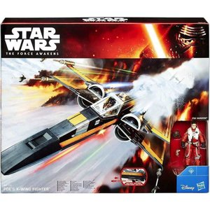 ポー ダメロン Poe Dameron ハズブロ Hasbro Toys フィギュア おもちゃ Star Wars The Force Awakens 's X-Wing 3.75-Inch Vehicle|fermart-hobby