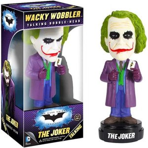 ジョーカー Joker ファンコ Funko フィギュア おもちゃ Batman The Dark Knight Wacky Wobbler The Talking Bobble Head [The Dark Knight]|fermart-hobby