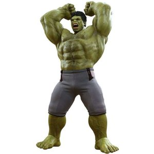 ハルク Hulk ホットトイズ Hot Toys フィギュア おもちゃ Marvel Avengers Age of Ultron 17-Inch Collectible Figure [Deluxe Set]|fermart-hobby