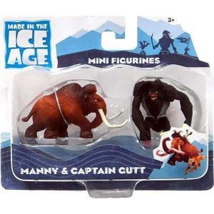 アイス エイジ Ice Age フィギュア Continental Drift Manny & Captain Gutt Mini Figure 2-Pack|fermart-hobby