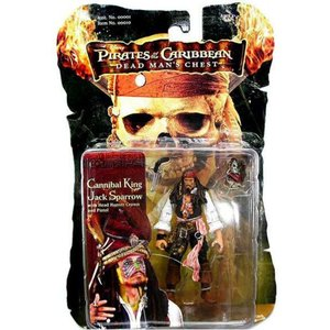 パイレーツ オブ カリビアン Pirates of the Caribbean ジズル フィギュア おもちゃ Dead Man's Chest Captain Jack Sparrow Action Figure [Cannibal King]|fermart-hobby