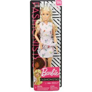 バービー Barbie ぬいぐるみ・人形 Fashionistas 13.25-Inch Doll #119 [Blonde with Pink Floral Dress]|fermart-hobby