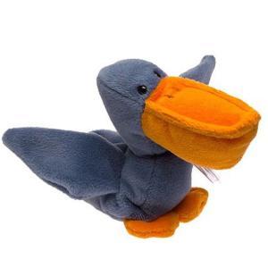 ビーニーベイビーズ Beanie Babies ぬいぐるみ・人形 Scoop the Pelican Beanie Baby Plush|fermart-hobby