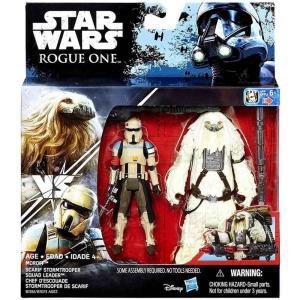 ストームトルーパー Stormtrooper ハズブロ Hasbro Toys フィギュア おもちゃ Star Wars Rogue One Moroff & Scarif Squad Leader Action Figure 2-Pack|fermart-hobby
