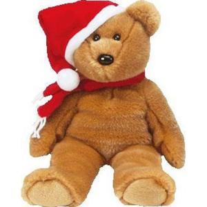 ビーニーベイビーズ Beanie Babies ぬいぐるみ・人形 ぬいぐるみ ビーニー 1997 Holiday Teddy Beanie Baby Plush|fermart-hobby
