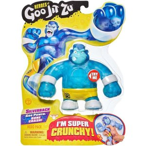 ヒーローズ Heroes フィギュア of Goo Jit Zu Silverback Action Figure [Gorilla]|fermart-hobby