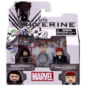 ウルヴァリン Wolverine ダイアモンド セレクト Diamond Select Toys フィギュア おもちゃ The [Yukon] & Ninja Yukio Exclusive Minifigure 2-Pack|fermart-hobby