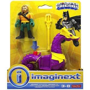 アクアマン Aquaman フィッシャープライス Fisher Price フィギュア おもちゃ DC Super Friends Imaginext & Seahorse Figure 2-Pack|fermart-hobby