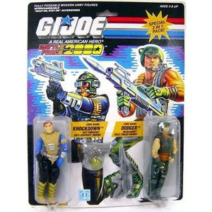 GIジョー G.I. Joe ハズブロ Hasbro Toys フィギュア おもちゃ GI Joe Battle Force 2000 Knockdown & Dodger Action Figure 2-Pack|fermart-hobby