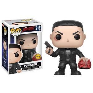 パニッシャー Punisher ファンコ Funko フィギュア おもちゃ Marvel Daredevil Netflix POP! Marvel Vinyl Bobble Head #216 [Holding Mask Chase Version]|fermart-hobby