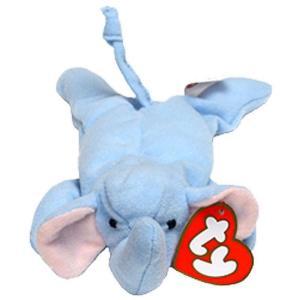 ビーニーベイビーズ Beanie Babies Ty ぬいぐるみ おもちゃ McDonalds 1998 Peanut the Elephant Teenie Beanie Plush #12|fermart-hobby