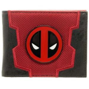 デッドプール Deadpool バイオワールド Bioworld ユニセックス 財布 Marvel Bi-Fold Boxed Wallet|fermart-hobby