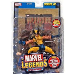 ウルヴァリン Wolverine トイビズ Toy Biz フィギュア おもちゃ Marvel Legends Series 3 Action Figure [Gold Foil Poster]|fermart-hobby