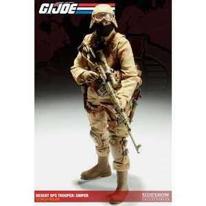 ジー アイ ジョー GI Joe サイドショウ Sideshow Collectibles フィギュア おもちゃ Cobra Enemy Desert Ops Trooper: Sniper 1/6 Collectible Figure|fermart-hobby