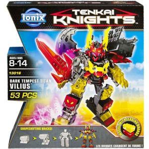 テンカイナイト Tenkai Knights スピンマスター Spin Master おもちゃ Dark Tempest Titan Vilius Set #13016 fermart-hobby
