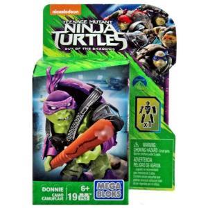 ミュータント タートルズ Teenage Mutant Ninja Turtles メガブロックス Mega Bloks おもちゃ Out of the Shadows Donnie Set DPW18 [Camo]|fermart-hobby