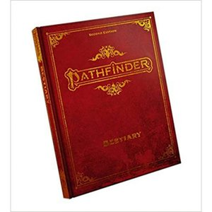 パスファインダー Pathfinder 本・雑誌 2nd Edition Bestiary Core Rulebook [Special Edition]|fermart-hobby