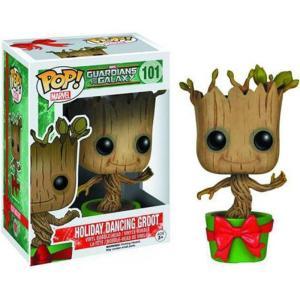 ガーディアンズ オブ ギャラクシー Guardians of the Galaxy フィギュア POP! Marvel Holiday Dancing Groot Vinyl Bobble Head #101|fermart-hobby