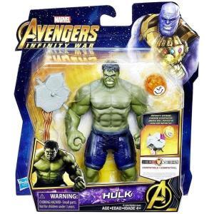 ハルク Hulk ハズブロ Hasbro Toys フィギュア おもちゃ Marvel Avengers: Infinity War Deluxe Action Figure [with Infinity Stone] fermart-hobby