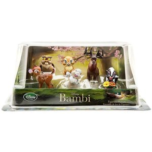 バンビ Bambi おもちゃ・ホビー Exclusive 6 Piece PVC Figurine Playset|fermart-hobby