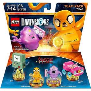 アドベンチャー タイム Adventure Time おもちゃ・ホビー Dimensions BMO, Jake, Lumpy & Lumpy's Car Team Pack #71246|fermart-hobby