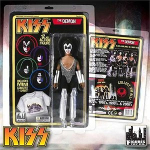 キッス KISS フィギュアーズトイ Figures Toy Co. フィギュア おもちゃ Deluxe Series 1 The Demon 12 Inch Action Figure [Gene Simmons]|fermart-hobby